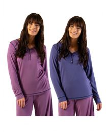 COLOURS TO CLEAR Bamboo PJ Top